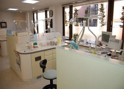 診療室は半個室状態ですので、プライベート空間を確保いただけます。