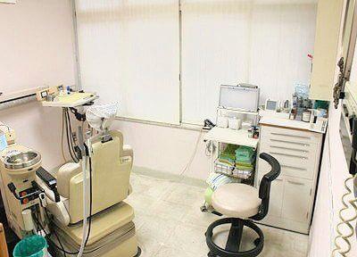 診療室は患者様が気持ちよく過ごせるよう、清潔にしています。