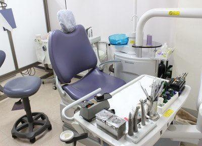 診療室です。何か不安な点などございましたら、当院までお問い合わせください。