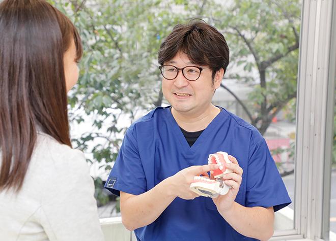ご自身の歯と同じように、しっかり噛めるインプラント治療にも対応しています
