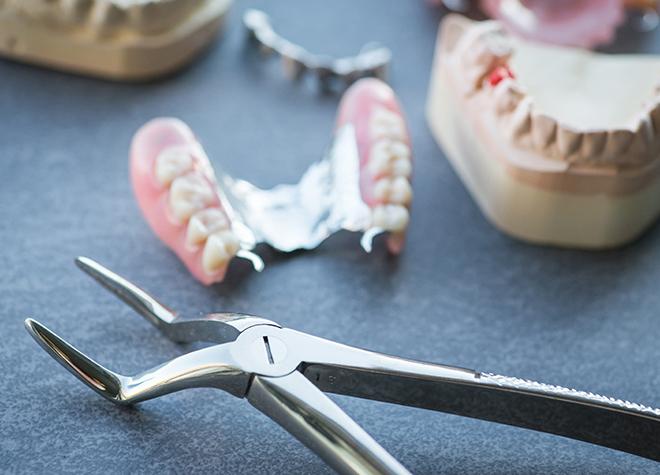 入れ歯の作製が完了した後も、しっかりとサポートを行っています。