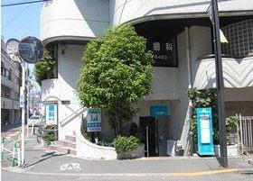 外観です。寺田デンタルビルの1階です。