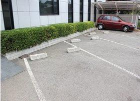 駐車場です。お車の方も通院しやすい環境となっております。