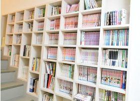 本もたくさんご用意しております。
