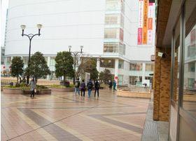 仙台駅西口を出てPARCO方面へ