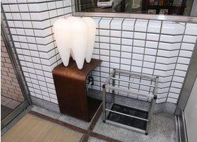 歯の形のライトです。