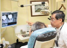 患者さんの目線に合わせお話をするよう心がけております。