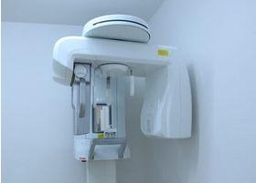 デジタルレントゲンは被ばく量も少なく、身体にも優しい機器です。