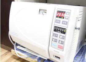 器具はすべて滅菌処理を施しています