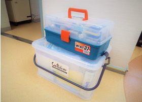 訪問歯科診療の際には専用の機材・器具を持って治療に伺いますので通院に近い治療が受けられます。