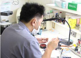 院内に技工士が在籍しているため、その場での調整が可能です