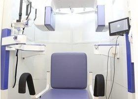 歯科用CTです。主にインプラント治療や親知らずを抜歯する際に使用します。