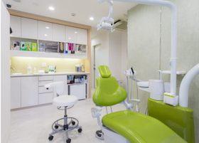 清潔感のある診療室です