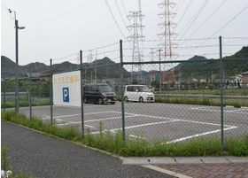 こちらは、駐車場です。