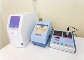 口臭治療に使用する機器です。デリケートなお悩みにも丁寧に対処いたします。