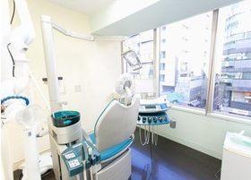 診療スペースは清浄に保っています。