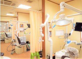 清潔感のある診療室となっております。