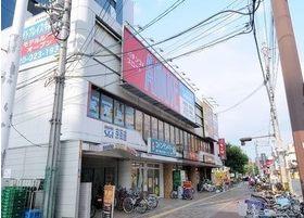 外観です。関目高殿駅より徒歩1分の位置にございます。