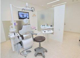 診療室は患者様のプライバシーに配慮した造りになっていますので、安心して治療を受けていただけます。