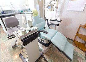 他の患者様が気にならないように、診療スペースは半個室になっています。