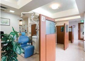 診療室は開放感があり、周りを気にせず治療に専念していただけます。