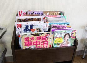 各種雑誌を取りそろえております