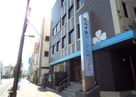 当院の入口です。JR二軒屋駅から徒歩1分の場所になります。