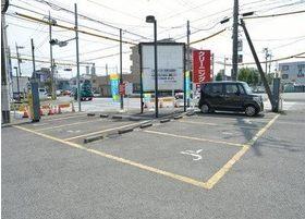 駐車場完備しているのでお車の方もご安心ください。