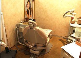 ティースアート渋谷店の診療室です。