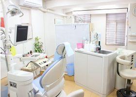 診療室はきれいな状態を保っています