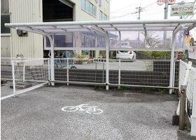 駐輪場も完備しております。