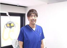 歯科医師の池田です。些細なことでもご相談ください。