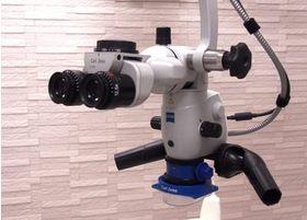 マイクロスコープを活用して、肉眼では見えづらいところも丁寧に治療してきます。