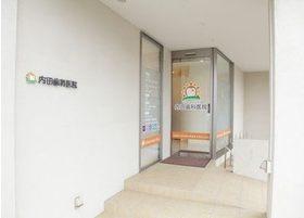 内田歯科医院の入り口です。こちらからお入りください。
