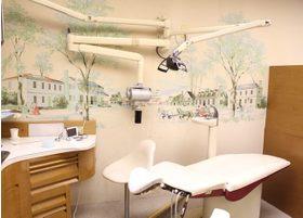 診察室は外装にもこだわっています。
