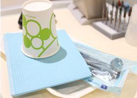 患者さまに使用する器具は、滅菌しております。