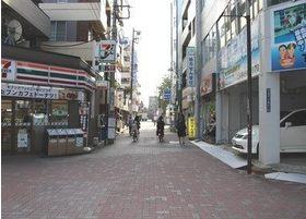 大森駅東口を出て右側へ歩くとこちらの道にでます。
