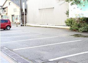 駐車場はこちらです。