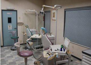 広い診療室です。