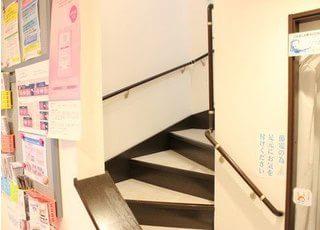 エスペレ歯科は2階建てになります。診療室は2階にございます。