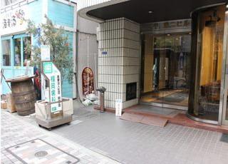 福岡歯科 新川院の外観です。