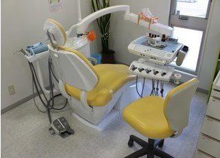 診療室は、患者様が快適に治療が受けられるように配慮しています。