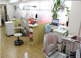 斉藤歯科クリニックの入り口です。