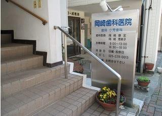 建物の二階が当医院です。