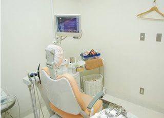 明るい診療室です。