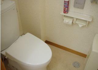 お手洗いも含め、院内は清潔な環境を保ち、院内感染の予防に努めております。