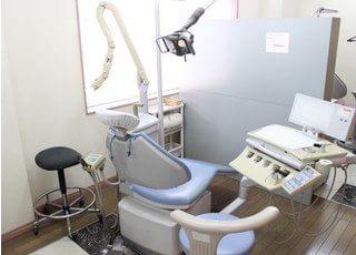 あなたの歯をここで治療していきます。
