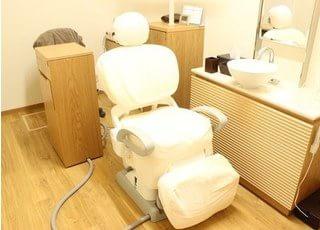 審美歯科用の特別診療室を完備しています。