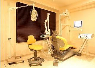 診療室は個室制なのでプライバシーも安心ですよ。