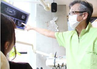 仲谷歯科クリニック_患者さま一人ひとりのお口・歯の状態に合わせて治療方法をご提案